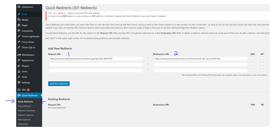 Quick Redirects 8 930